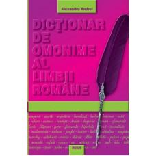 Dictionar de omonime al limbii romane